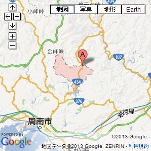 山口県周南市金峰地区画像写真